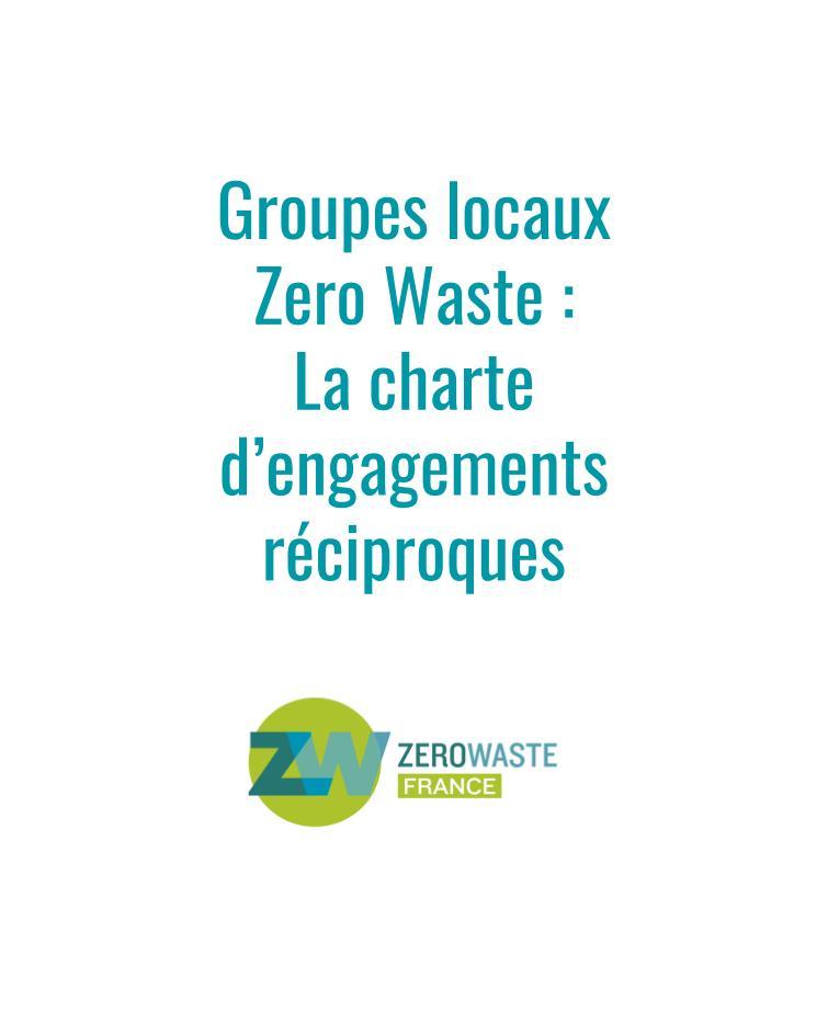 Charte d'engagements groupes locaux ZW