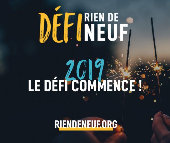 """Résultat de recherche d'images pour """"Défi « Rien de neuf » 2019"""""""